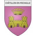 Stickers coat of arms Châtillon-en-Michaille adhesive sticker
