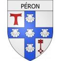 Péron 01 ville Stickers blason autocollant adhésif