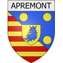 Stickers coat of arms Apremont adhesive sticker