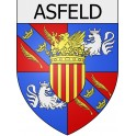 Stickers coat of arms Arreux adhesive sticker