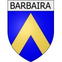 Stickers coat of arms Barbaira adhesive sticker