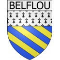 Stickers coat of arms Belflou adhesive sticker