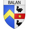 Stickers coat of arms Balan adhesive sticker