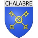 Stickers coat of arms Chalabre adhesive sticker