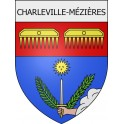 Stickers coat of arms Charleville-Mézières adhesive sticker