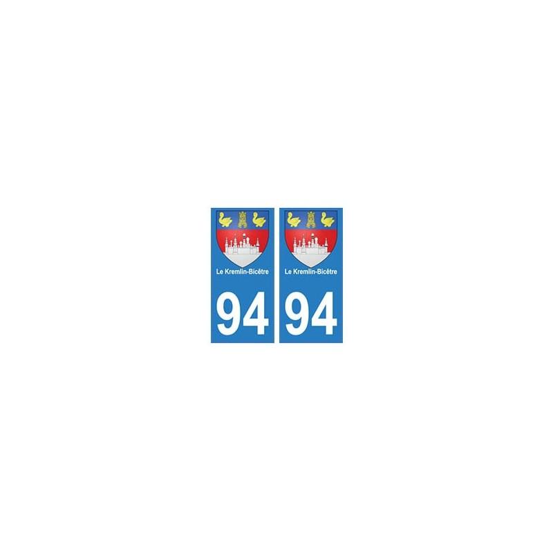 Autocollant le kremlin bic tre blason plaque - Piscine municipale kremlin bicetre ...