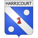 Stickers coat of arms Harricourt adhesive sticker