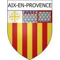 Aix-en-Provence 13 ville Stickers blason autocollant adhésif