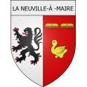 Stickers coat of arms La Neuville-à-Maire adhesive sticker