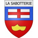 Stickers coat of arms La Sabotterie adhesive sticker