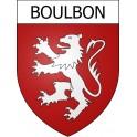 Boulbon 13 ville Stickers blason autocollant adhésif