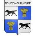 Stickers coat of arms Nouvion-sur-Meuse adhesive sticker