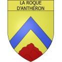 Stickers coat of arms La Roque-d'Anthéron adhesive sticker