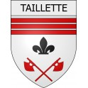 Stickers coat of arms Taillette adhesive sticker