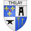 Stickers coat of arms Thilay adhesive sticker