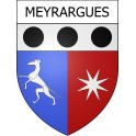 Stickers coat of arms Meyrargues adhesive sticker