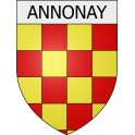 Stickers coat of arms Annonay adhesive sticker