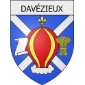 Stickers coat of arms Davézieux adhesive sticker