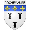 Stickers coat of arms Rochemaure adhesive sticker