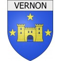 Stickers coat of arms Vernon adhesive sticker