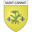 Saint-Cannat 13 ville Stickers blason autocollant adhésif