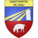Stickers coat of arms Saint-Martin-de-Crau adhesive sticker