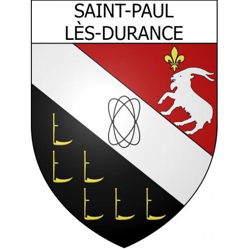 Saint-Paul-lès-Durance 13 ville Stickers blason autocollant adhésif