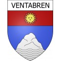 Stickers coat of arms Ventabren adhesive sticker
