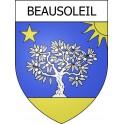 Beausoleil 06 ville Stickers blason autocollant adhésif
