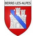 Stickers coat of arms Berre-les-Alpes adhesive sticker