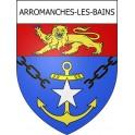 Arromanches-les-Bains 14 ville Stickers blason autocollant adhésif