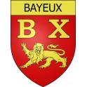 Bayeux 14 ville Stickers blason autocollant adhésif