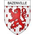 Bazenville 14 ville Stickers blason autocollant adhésif