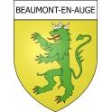 Beaumont-en-Auge 14 ville Stickers blason autocollant adhésif