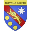 Stickers coat of arms Blonville-sur-Mer adhesive sticker