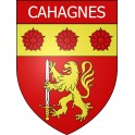 Stickers coat of arms Cahagnes adhesive sticker