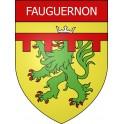 Stickers coat of arms Fauguernon adhesive sticker