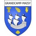 Grandcamp-Maisy 14 ville Stickers blason autocollant adhésif
