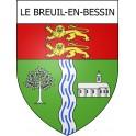 Adesivi stemma Le Breuil-en-Bessin adesivo