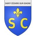 saint-cézaire-sur-siagne 06 ville Stickers blason autocollant adhésif