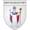Pegatinas escudo de armas de Viviers adhesivo de la etiqueta engomada