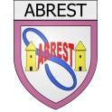 Stickers coat of arms Abrest adhesive sticker