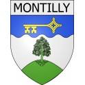 Stickers coat of arms Montilly adhesive sticker