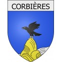 Stickers coat of arms Corbières adhesive sticker