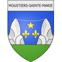 Stickers coat of arms Blausasc adhesive sticker