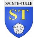 Sainte-Tulle 04 ville Stickers blason autocollant adhésif