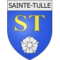 Stickers coat of arms Sainte-Tulle adhesive sticker