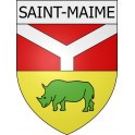 Stickers coat of arms Saint-Maime adhesive sticker