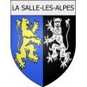 La Salle-les-Alpes 05 ville Stickers blason autocollant adhésif