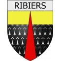Ribiers 05 ville Stickers blason autocollant adhésif